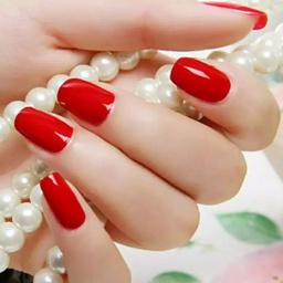 - 中国红 纯色