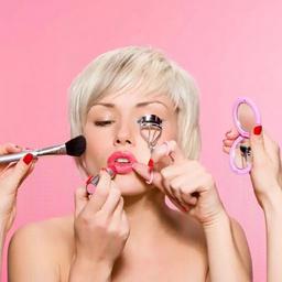 - 一对一化妆教学课,精致课两小时