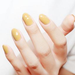 - 韩国或国产甲油胶纯色美甲