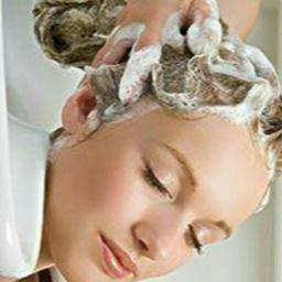 - 放松干洗头发
